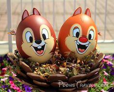 Chip and Dale Easter Eggs Disney Easter Eggs, Easter Bunny, Easter Egg Pictures, Disney Incredibles, Easter Egg Crafts, Egg Art, Disney Crafts, Egg Decorating, Disney Christmas