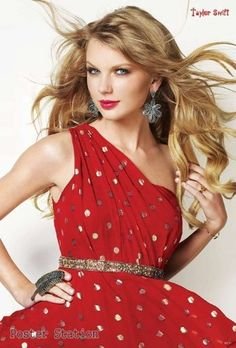 "Taylor Swift ""Red Dress"""