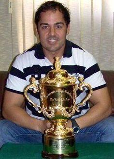 Web Ellis trophy Nelio De Sa