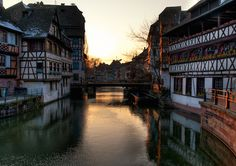 Strasbourg, France - a day trip from Basel. My sister and I visited this lovely town a couple of times.