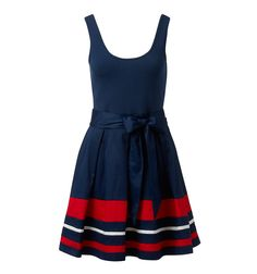 Mia Striped 2 in 1 Dress... they could not have created a more perfect game day dress for Ole Miss