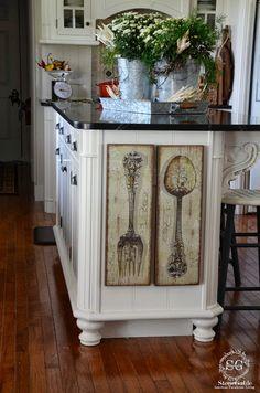 StoneGable: DIY:: KITCHEN ART