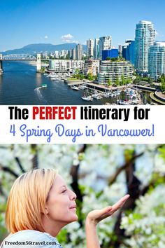 Plan to visit Vancouver with this great itinerary for 4 days in Vancouver. See all the great sights Vancouver is famous for plus great insider pro tips! Visit Vancouver, Vancouver Travel, Canada Destinations, Amazing Destinations, Canadian Travel, Canadian Food, Canadian Rockies, Travel Guides, Travel Tips