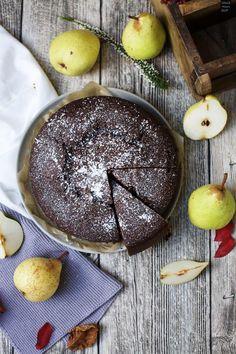 Fraeulein Meer backt Birnen-Schokoladen-Kuchen