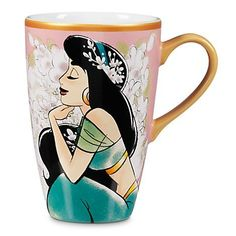 Disney Store Aladdin Art of Jasmine Mug  Pink * Find out more about the great product at the image link.