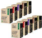 Pack Découverte - 100 capsules de café compatibles Nespresso - Cafés Lugat