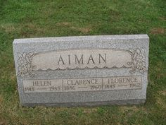 Clarence Aiman (1886 - 1960) - Find A Grave Photos
