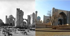 It's amazing to witness the restoration of Samarkand's Historic Buildings!