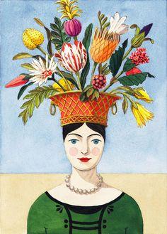 The Flower Lady by Harrison Howard
