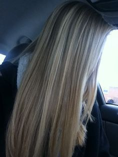 Next hair brown hair with blonde highlights