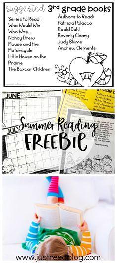 Use this FREE Summer Reading Program to prevent the summer slide in kindergarten through third grade!