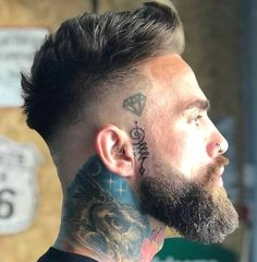 👇👇 Your thoughts on his hair and beard game? Comment below 👇👇 Credi 👇👇 Your thoughts on his hair and beard game? Comment below 👇👇 Credi Faded Beard Styles, Beard Styles For Men, Hair And Beard Styles, Short Hair And Beard, Men Hair Cuts, Short Beard Styles, Cool Haircuts, Haircuts For Men, Short Haircuts