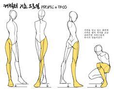 drawing drawing tips Free idea Drawing Body Poses, Body Reference Drawing, Drawing Reference Poses, Anatomy Reference, Anatomy Sketches, Anatomy Art, Art Drawings Sketches, Body Anatomy, Easy Drawings