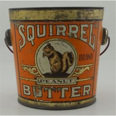 Squirrel Peanut Butter.was best by far creamy smooth to the bottom of the jar