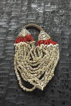 Papua | Asmat Tribal Necklace That's something similar with what we have in our boutique