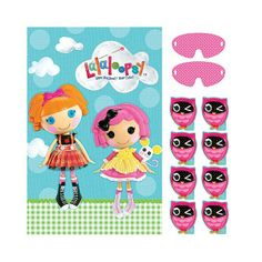Party Time Celebrations  - Lalaloopsy Party Game, $9.95 (http://www.partytimecelebrations.com.au/lalaloopsy-party-game/)