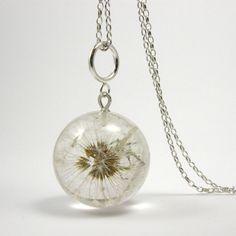 Dandelion Pendant. $120.00, via Etsy.