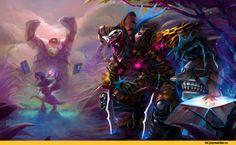 Shaco,League Of Legends,лига легенд,фэндомы,Veigar
