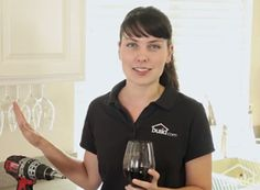 In six quick steps, you can make the perfect wine glass rack to hold all of your stemware from under your upper cabinets. Check out…