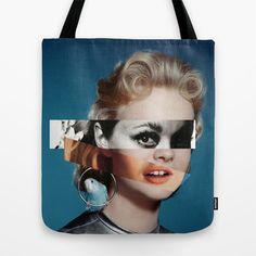Goddess Tote Bag by Alba Blázquez - $22.00
