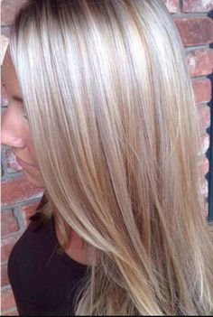 Cool Blonde with Dimension