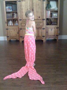 All Things Simple: Mermaid Towel Tails