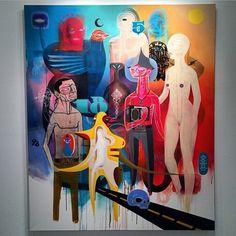 Follow the artist: @dozegreen  #art #artbotic #kunst #artist