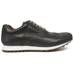8277 Zapato deportivo en color gris con pala vega y la puntera picada y  piso de de1010659a2