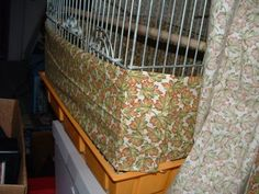 how to make bird cage seed cskirt