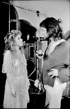 Stevie Nicks with Herbert Worthington III
