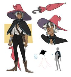 Warming up 2 my new tablet with some taako I drew him sort of plain (in comparison to other designs) anyway so I guess this is okay? Anyway heres the boy and how i think the manta ray cloak looks …....