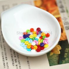 Cheap button energy, Buy Quality button blue directly from China button charm Suppliers: 50pcs Mixed Color DIY Handmade Patchwork Essential Candy Colored Cloth Buttons Mini Buttons 6MM