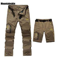 Mens Summer Quick Dry Removable Pants #bush #camping #basecamp #bag #hiking #backpack #walking #tents #fishing #sleeping