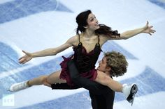 The two top spots on the podium at the ISU Figure Skating Grand Prix in the Russian Black Sea resort city of Sochi went to the home athletes.    Tatiana Volosozhar and Maxim Trankov enjoyed a confident lead after the short program, and even two falls in the free skate couldn't prevent them from snatching the gold medals with 204.55 points.    The Russians also bagged the silver on the night, thanks to Vera Bazarova and Yury Larionov, who produced their best-ever free skate result.