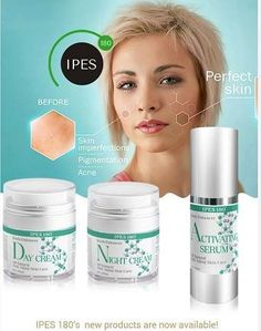 IPES 180 introduces its new and all natural skin care product line