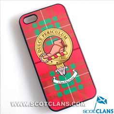 MacAulay Clan Crest iPhone Case