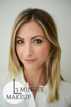 3 Minute Makeup - Cupcakes and Cashmere