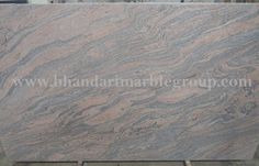 INDIAN JUPARANA GRANITE Indian Juparana Granite is is one of the strongest and very hard material. This stone can be used in bridges. Granite Paving, Granite Backsplash, Granite Slab, Countertops, Onyx Marble, Green Marble, Pink Marble, Types Of Granite, Building Stone