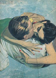 Caught in the web of romance! ~ Ward Brackett
