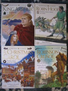 DK Classics: King Arthur by Rosalind Kerven (1998, Hardcover ...