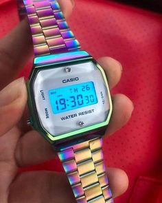 Casio Gold, Casio G-shock, Casio Watch, Elegant Watches, Stylish Watches, Watches For Men, Aesthetic Grunge Outfit, Latest Gadgets, Fitness Watch