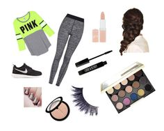 """""""Untitled #15"""" by taylorisawesome333 on Polyvore featuring Topshop, NIKE, Disney, Rimmel, Lord & Berry, Urban Decay, Manic Panic and Sephora Collection"""