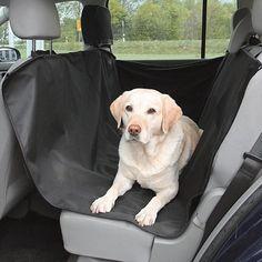 Dog Car Seat Cover Pet Rear Back Hammock Mat Protector Selt Belt Waterproof  SA