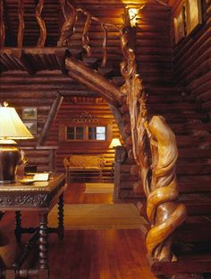 Log Homes are awesome