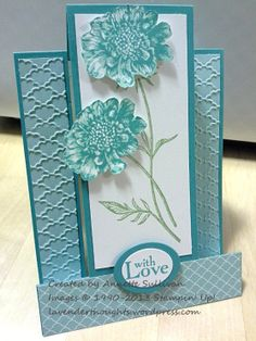 Stampin' Up! Field Flowers Bermuda Party Centre Step