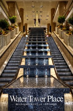 CHICAGO, IL :: Water Tower Place on Michigan Avenue - by Zenobia Gonsalves on Flickr