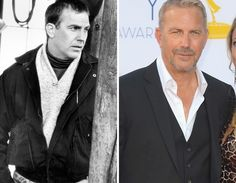 Men of the -- Kevin Costner. Sexy as he gets older Celebrities Then And Now, Young Celebrities, Celebs, Yearbooks, Kevin Costner, Stars Then And Now, History Books, Famous Faces, Getting Old