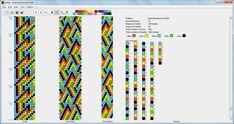 12 around bead crochet rope pattern Crochet Bracelet Pattern, Crochet Beaded Bracelets, Bead Crochet Patterns, Bead Crochet Rope, Seed Bead Patterns, Bead Loom Bracelets, Beaded Jewelry Patterns, Beading Patterns, Beaded Crochet