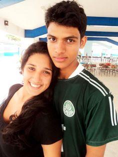 """Gabriela Ferreira, Eu e Palmeiras rs"""""""
