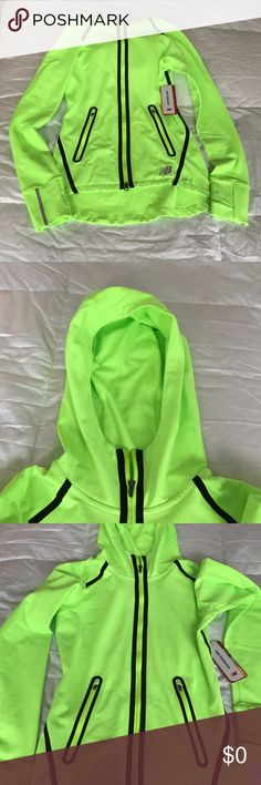 New Balance Zip Up Jacket with Hood Brand new tags attached New Balance Jackets & Coats